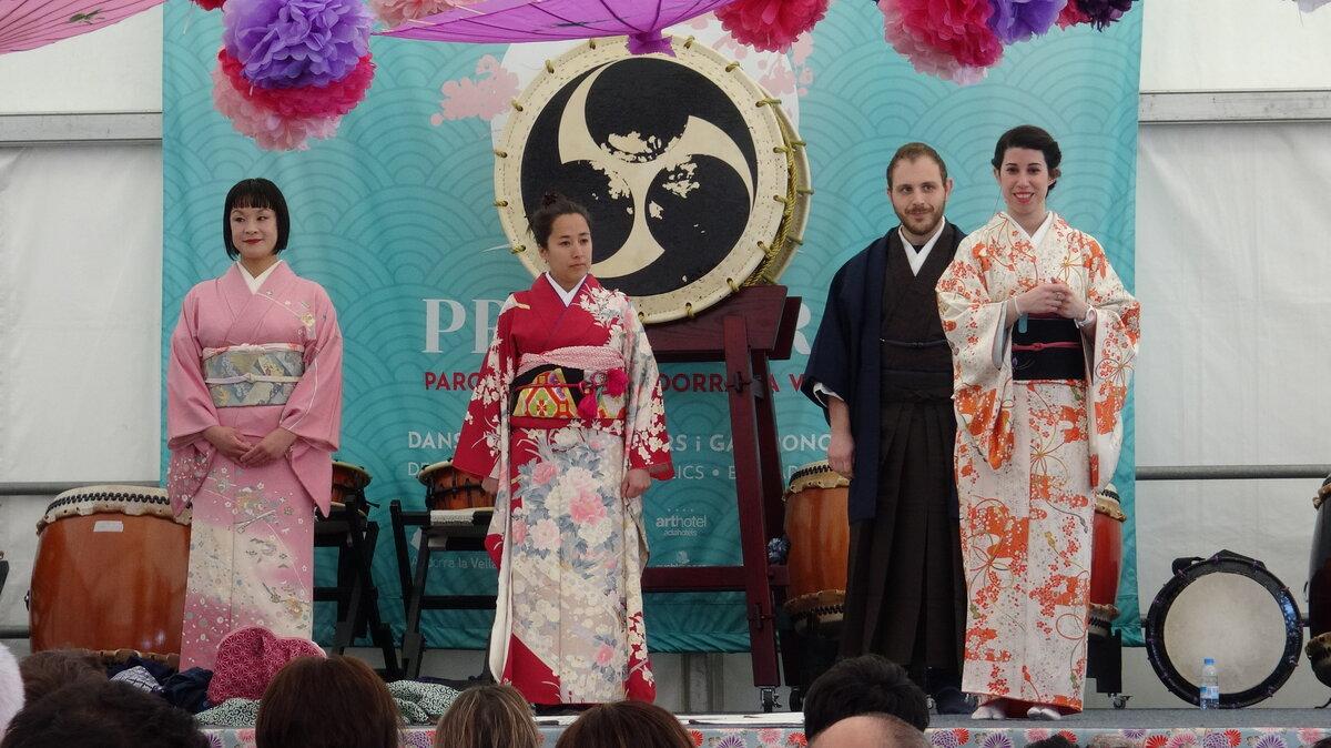 Kitsuke (Kimono) en Fiesta de la Primavera 2019, Andorra
