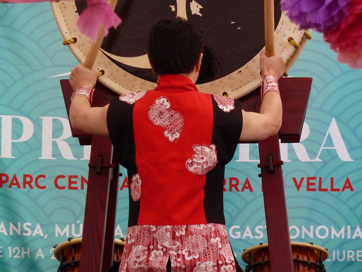 Taiko Enishi en Fiesta de la Primavera 2019, Andorra