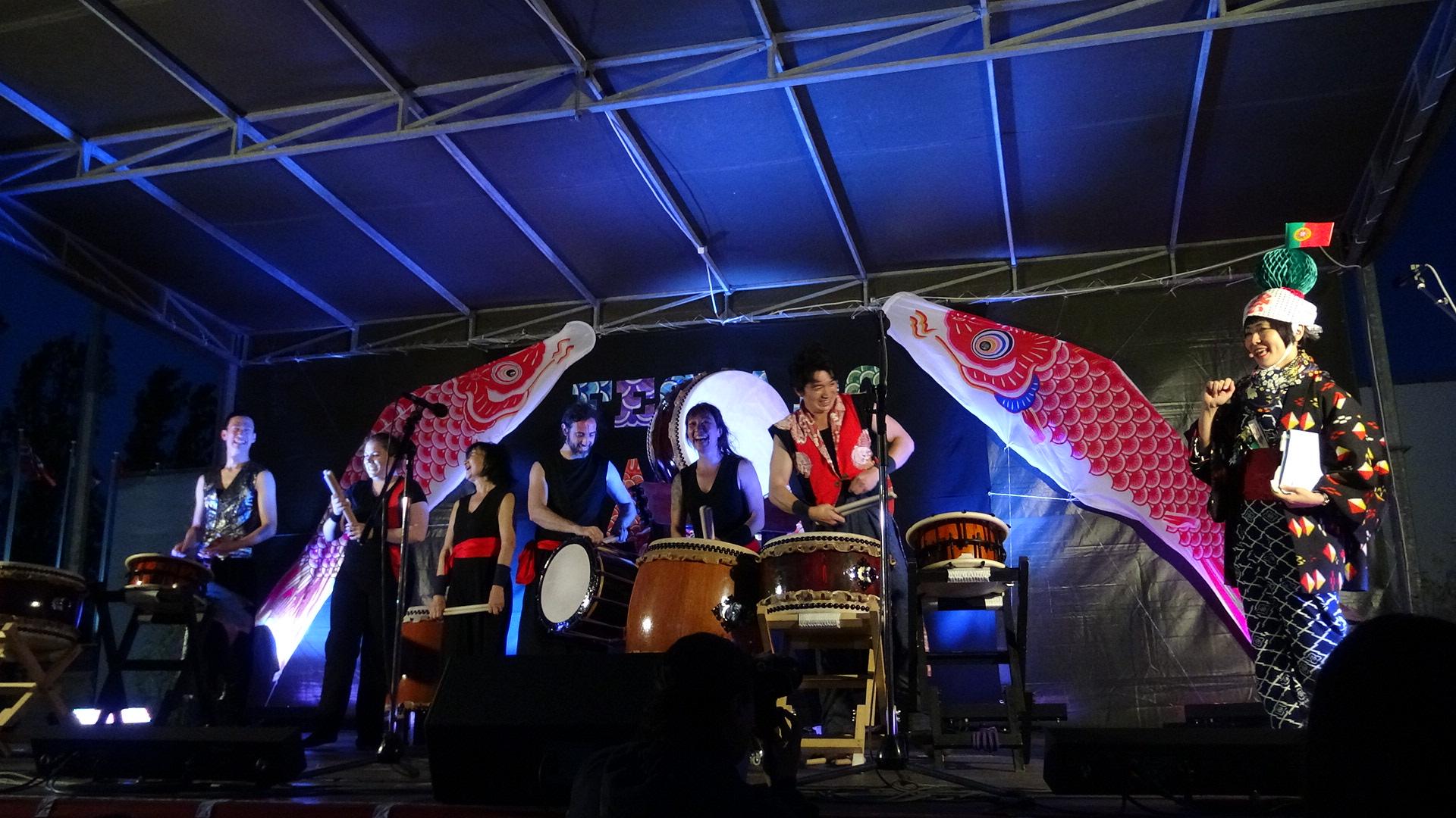 Taiko en Fiesta de Japón en Lisboa, 2018