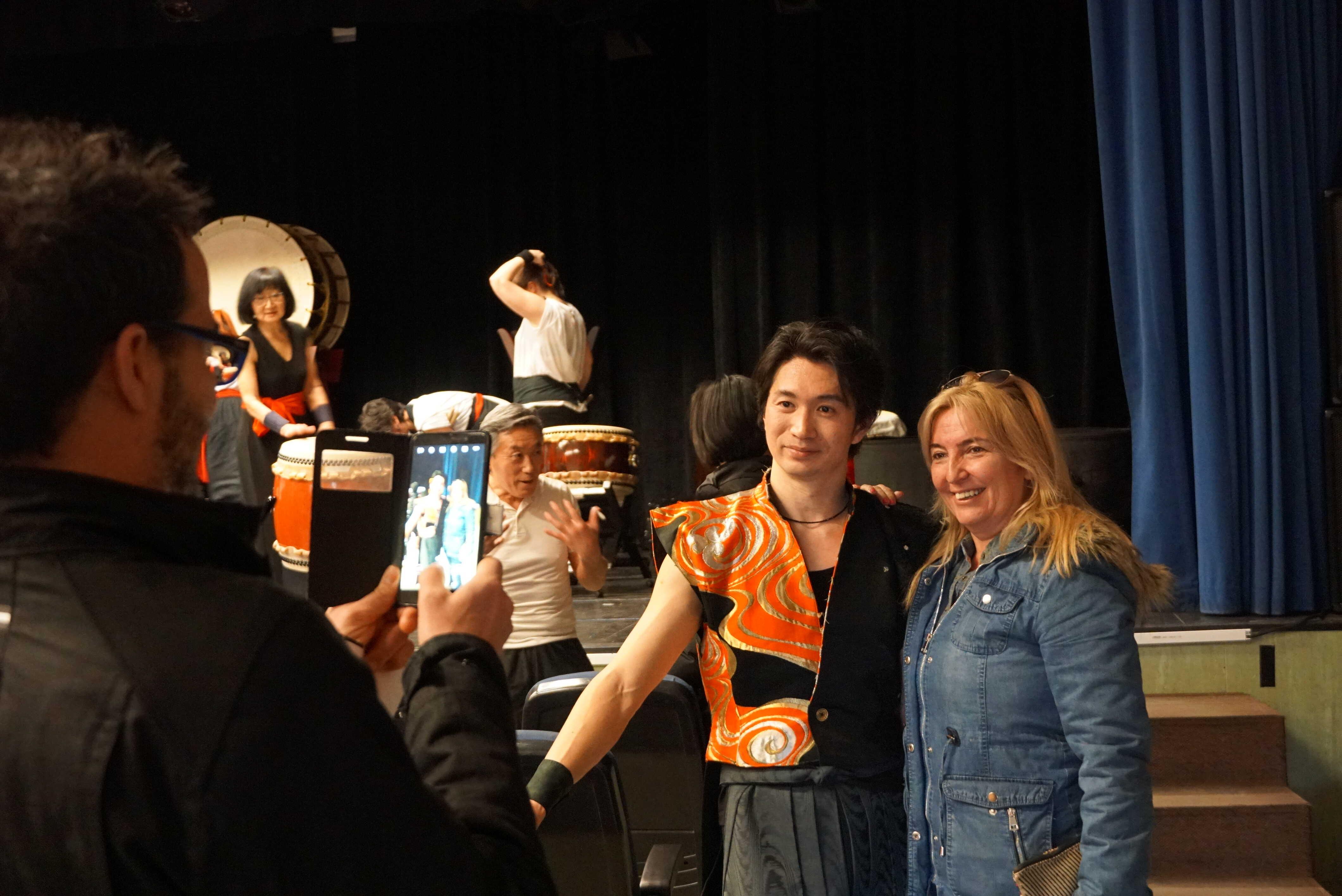 Taiko Enishi y Taiko-o-Koeté