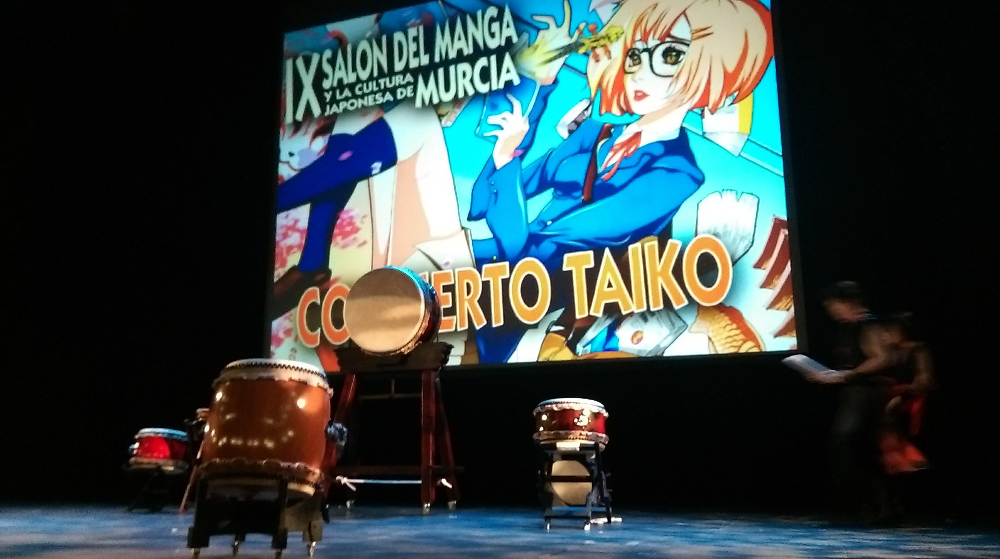 Taiko Enishi en IX Salón del Manga y la Cultura Japonesa de Murcia