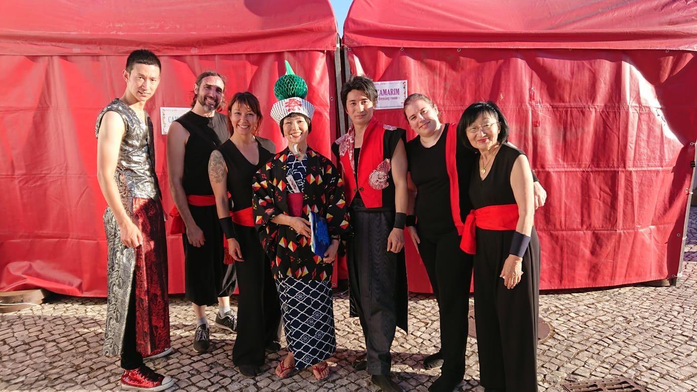 Taiko Enishi en Festa do Japao en Lisboa