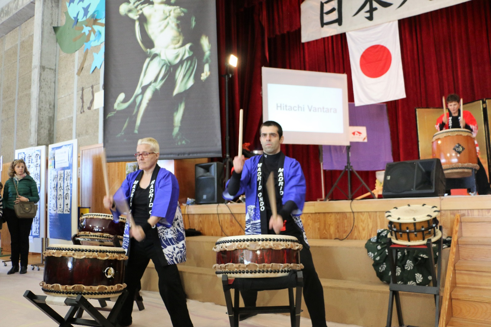 Taiko en Mochitsuki 2019, Madrid